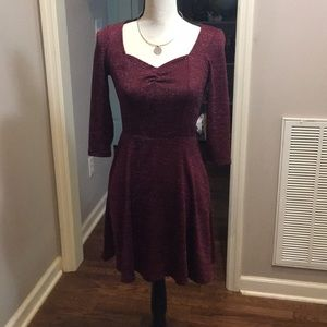 NWT Macy's Bebop collection small skater dress